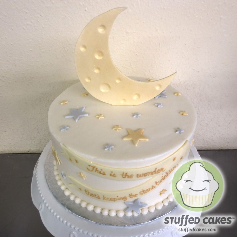 moon and stars baby shower baby shower pinterest
