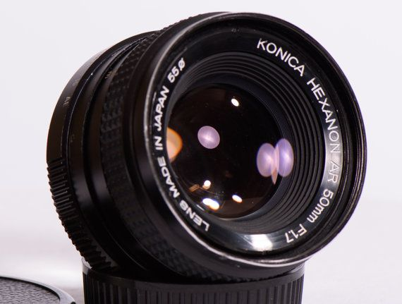 The Legendary Konica Hexanon AR mount 50mm f/1 7  This lens