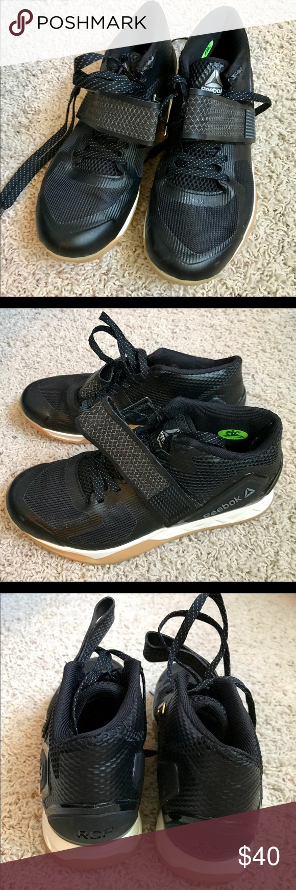 Reebok CrossFit Transition Lft Women Like new. Only worn a handful of times.  Great for switching between lifts and running. Comes with original box. fbfbe71a2