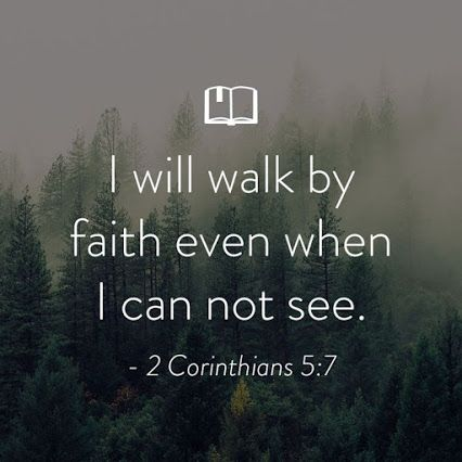 Walking Faith Bible Verse