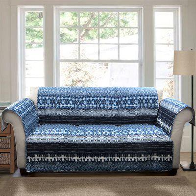 Lush Decor C28599P14-000 Lambert Tie Dye Loveseat Furniture Protector