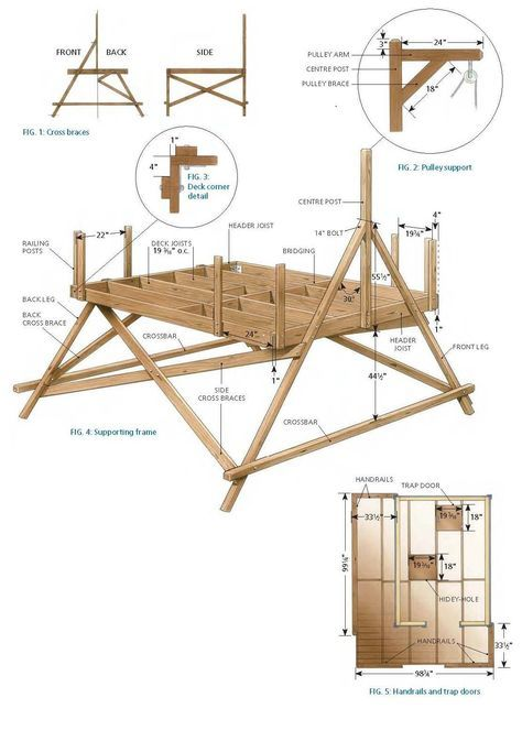 Free Treehouse Plans And Designs