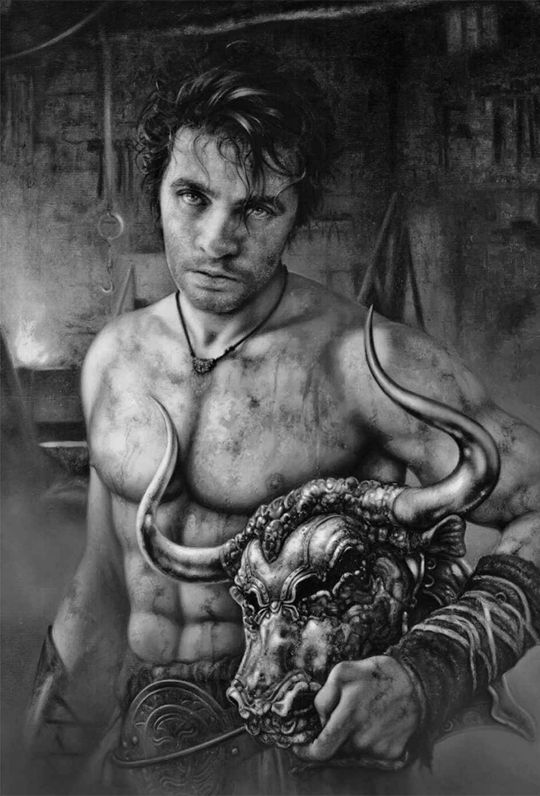 """A Game of Thrones: The Illustrated Edition: """"Gendry"""" by Arantza Sestayo"""