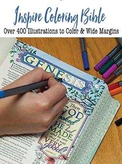 Inspire The First Coloring Bible 20 FREE PRINTABLE BIBLE COLORING PAGES