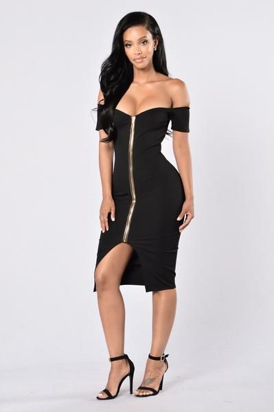 bbeed1b9ea1 Breaking Borders Dress - Black