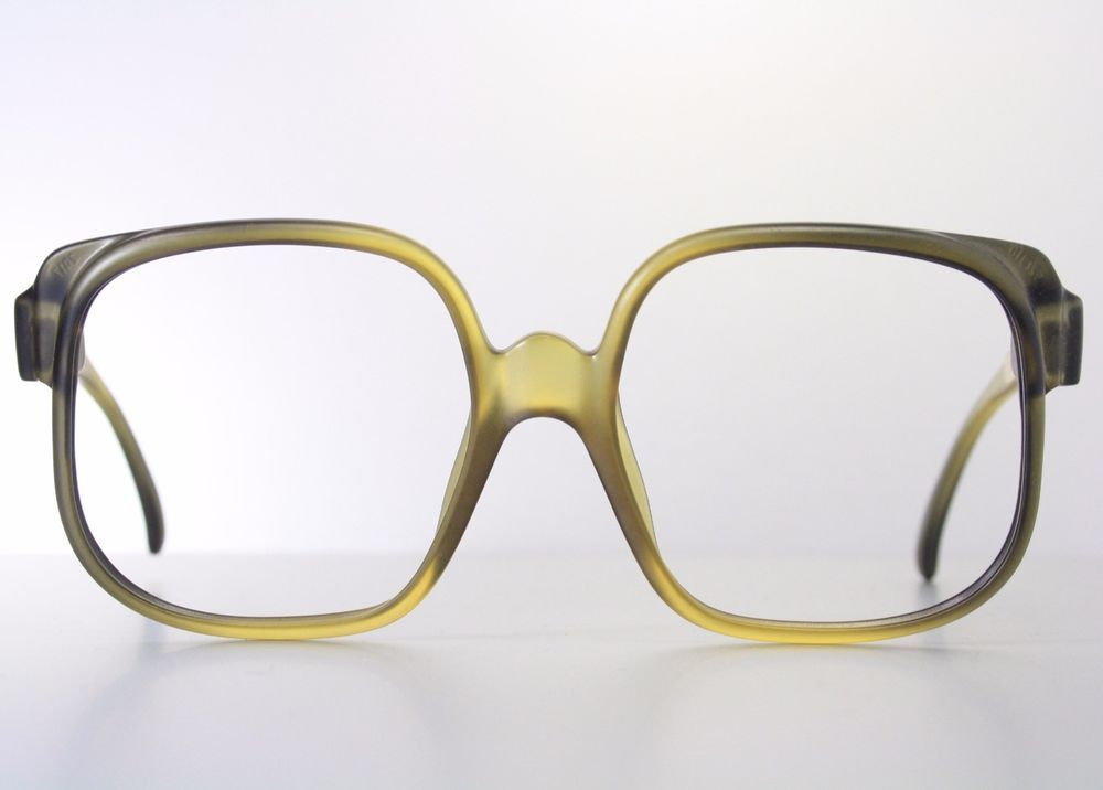 0d1cc3a779be New 100% Authentic Vintage CHRISTIAN DIOR 2117 Matte Amber Green Eyeglass  Frames  ChristianDior  Butterfly