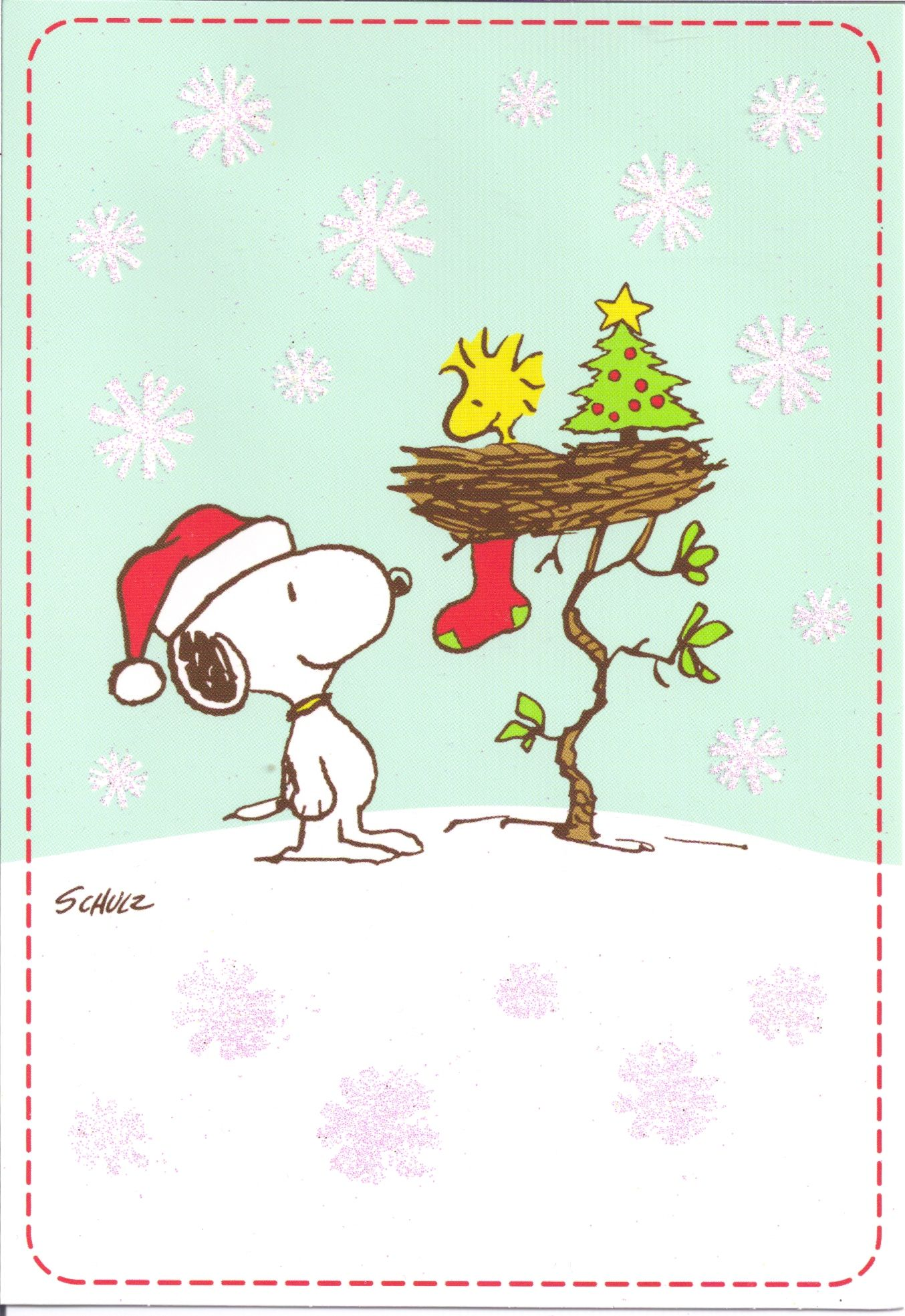 Pin by Maria Williard on Christmas Cards | Pinterest | Snoopy ...