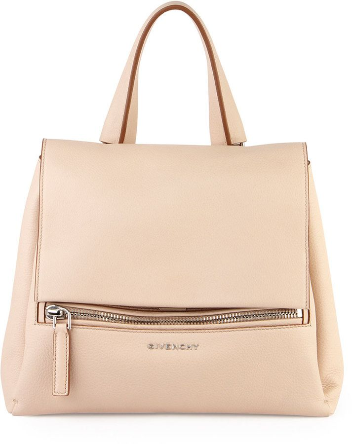 b96a13cc93f Givenchy Pandora Small Waxy Calf Bag, Light Beige   Bags every girls ...
