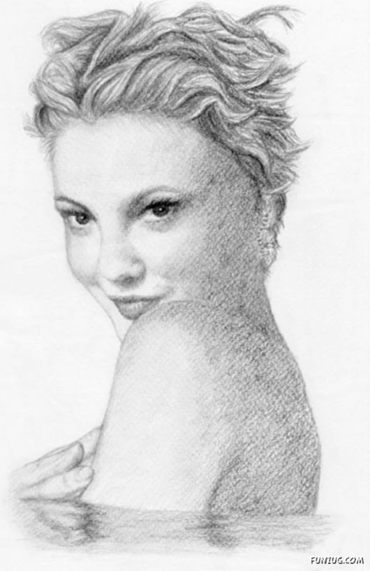 Pencil art of the famous people