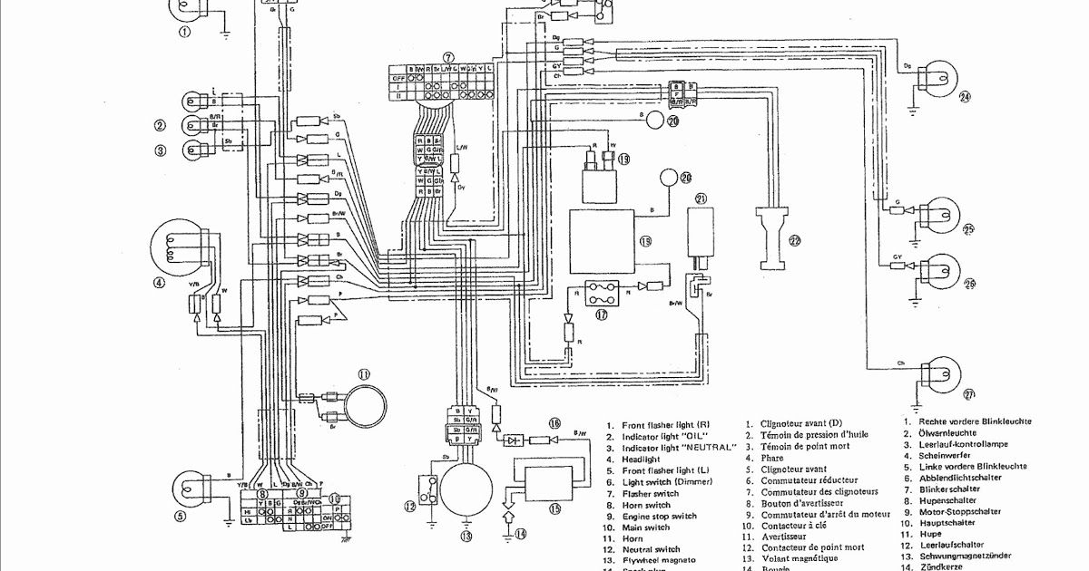 Electrical Wiring Diagram Of Motorcycle Electrical Wiring