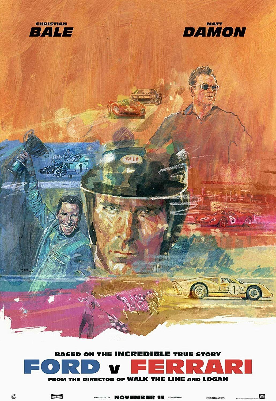 Ford V Ferrari Movie Poster Ferrari Poster Ferrari Movie Posters