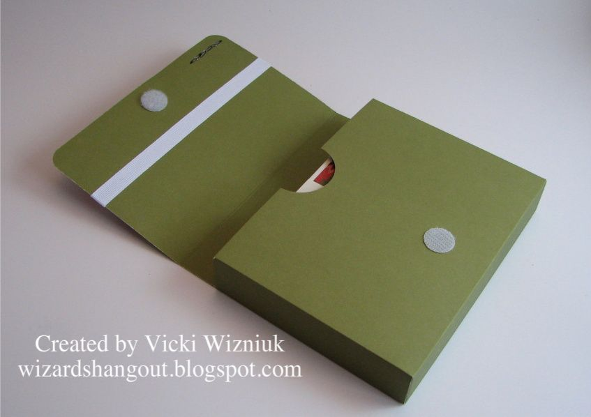 Clutch-style A2 Card Box and Cards - bjl