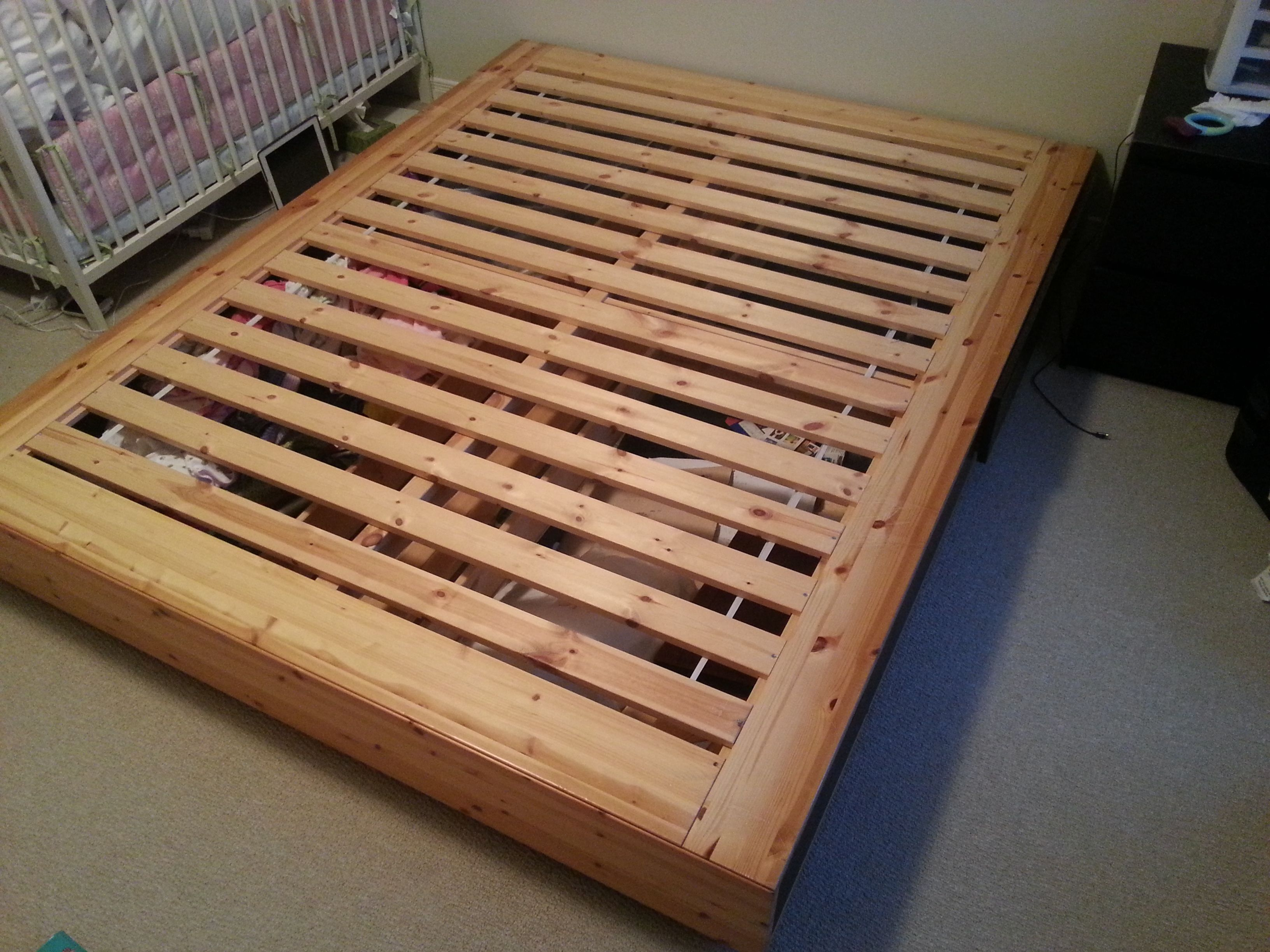 Ikea Mandal Bed Frame Queen Size
