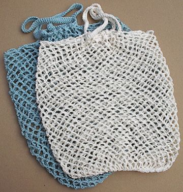Knit and Crochet project bag linen canvas and wool blend Fly by regular