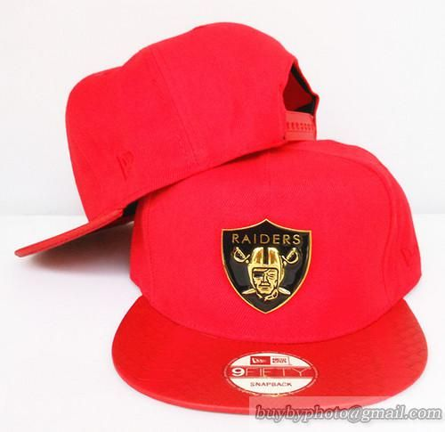 393b34597 Oakland Raiders Snapback Hats All Red