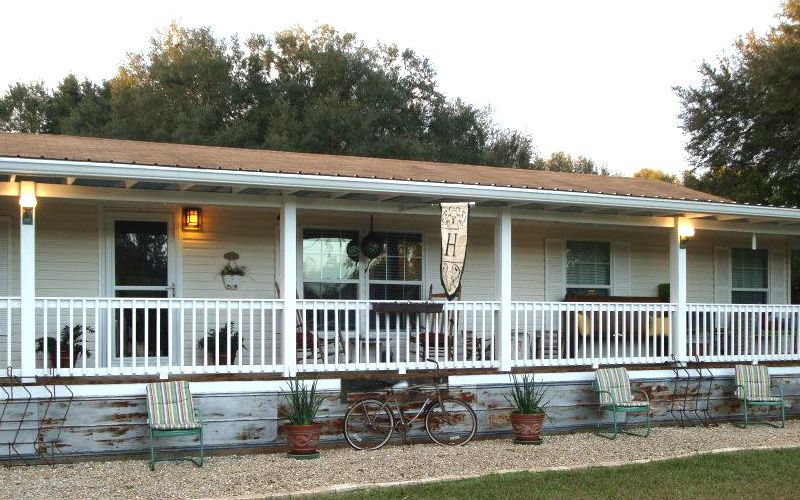 Mobile Home Porches Decks Guide Manufactured Home Porch