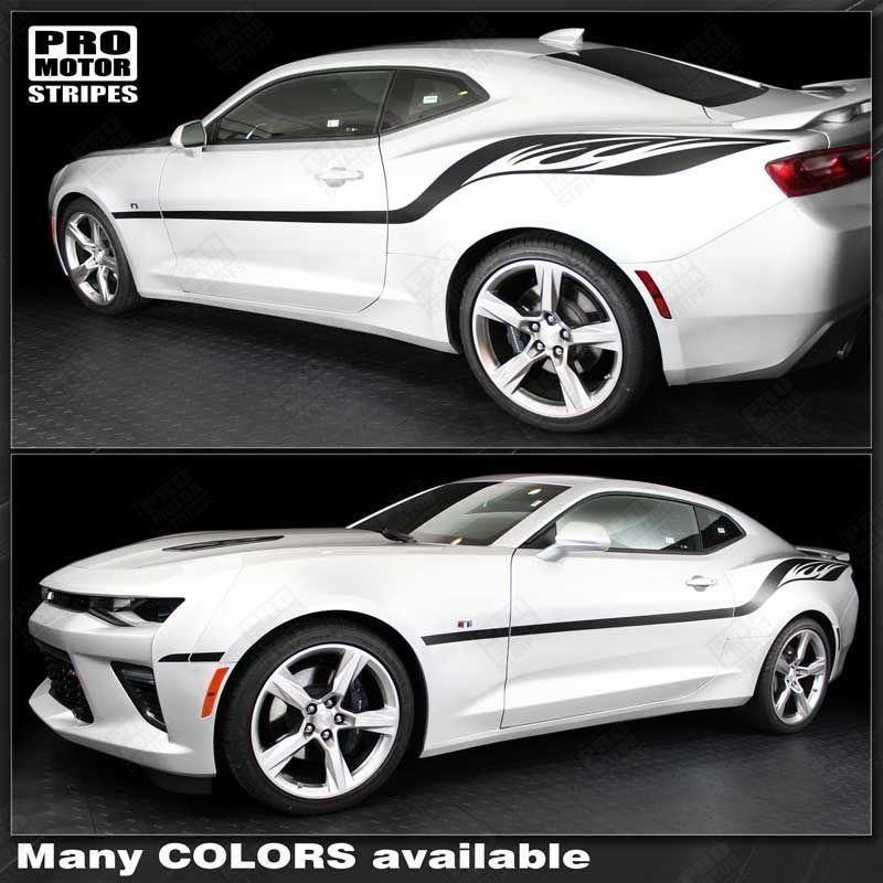 FLAME 33a SIDE FLAMES Decals Graphics graphic Decal ALL CAR Dart Charger Camaro