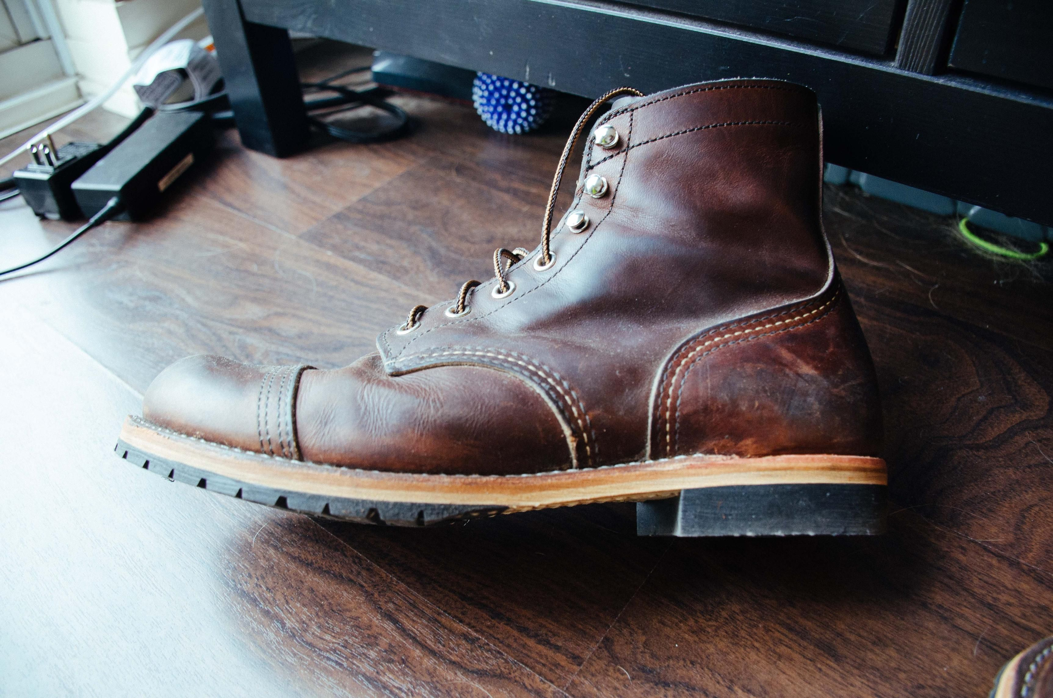 Red Wing Iron Ranger Resole | Clothes, shoes, boots in 2019