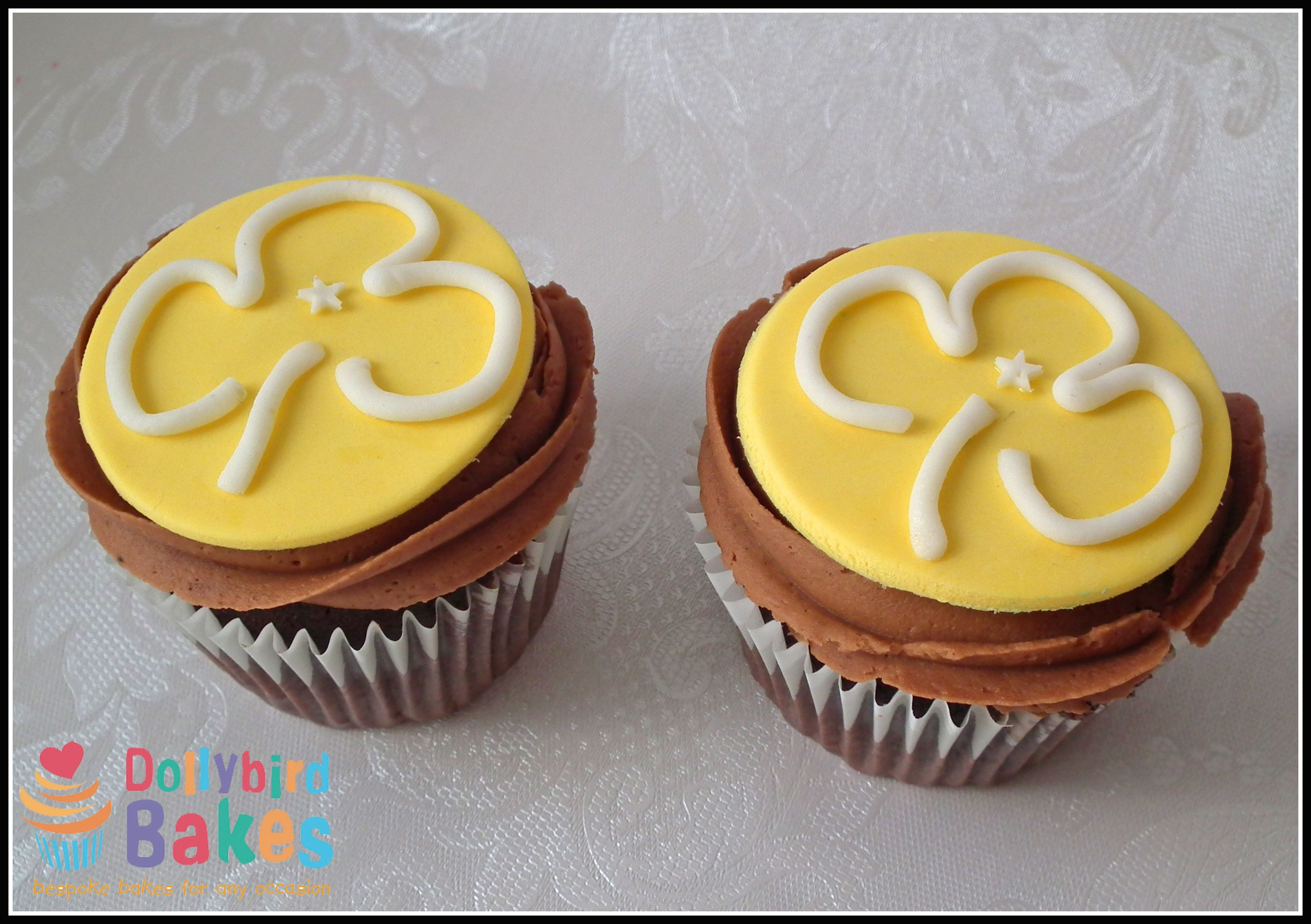 Girl Guides cupcakes - dollybird bakes More Brownies ...