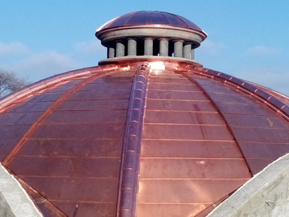 Copper Roof Image By John Spevak On Roofing Roof Design Roof Cap