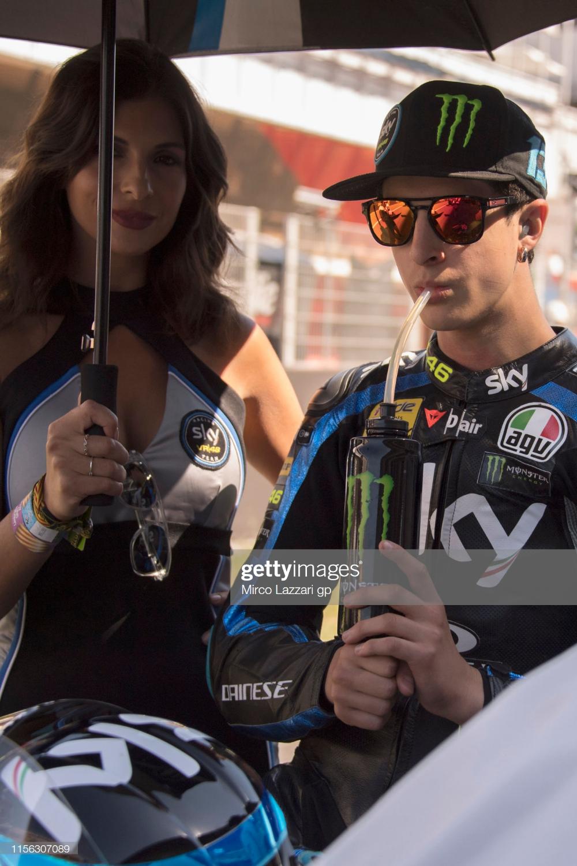 Celestino Vietti Ramus of Italy and Sky Racing Team VR46 prepares ...