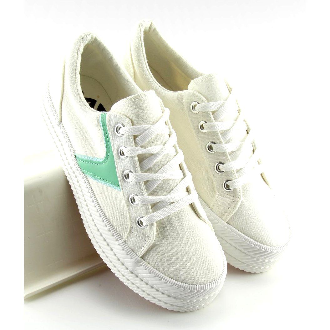 Sneakers On A High Heel White K1831401 Blanco High Heel Sneakers Pink Sneakers Pink High Heels
