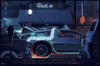 Back to the future poster by Laurent Durieux | From up North