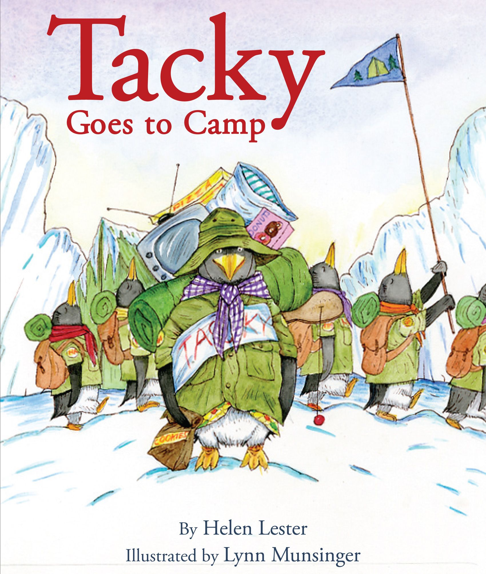 An activity kit for Tacky Goes to Camp by Helen Lester