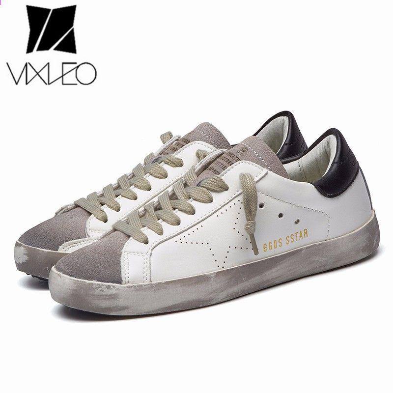 Vixleo Meskie Obuwie Wloskie Wlochy Oryginalne Skorzane Obuwie Uniseksowe Buty Goose Gwiazda Buty Oddychajace Obu Mens Casual Shoes Flat Shoes Men Sneakers Men