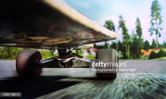 Stock Photo : Longboard