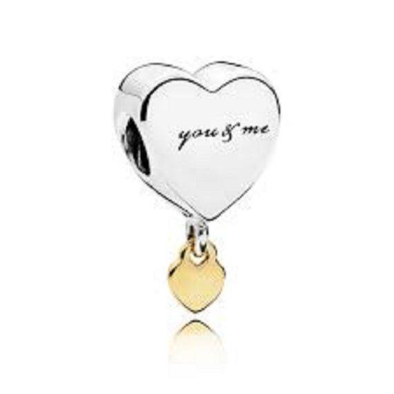 Who Sells Pandora Jewelry: Pandora Charms, Two Hearts Dangle Charm , Love Charms