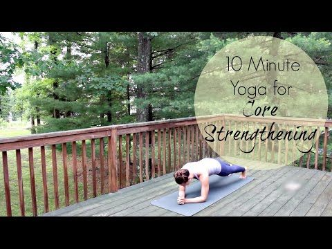 core strengthening yoga  chriskayoga  youtube  tight
