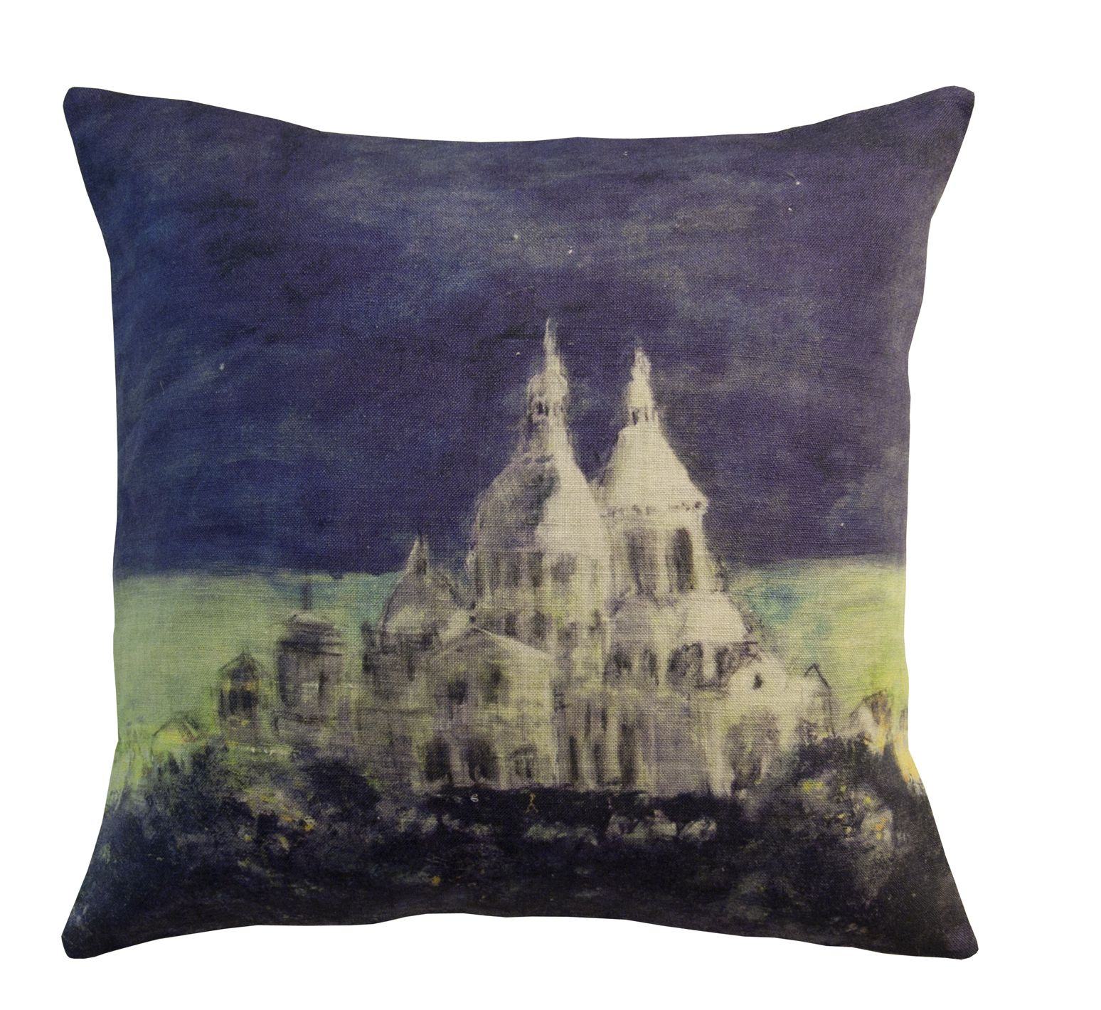 Quot Sacr 233 Coeur Quot Cushion Genevi 232 Ve L 233 Vy Edition Drawing By
