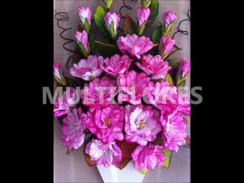 Curso de flores en goma eva de multiflores youtube - Flore de goma eva ...