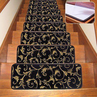 Best Stair Treads Carpet Indoor Non Slip Blended Skid Resistant 400 x 300