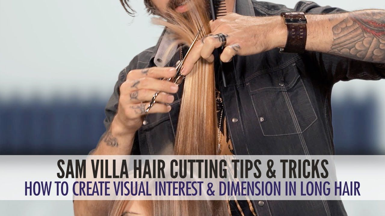 How To Create Visual Interest Dimension In Long Hair Hand To My