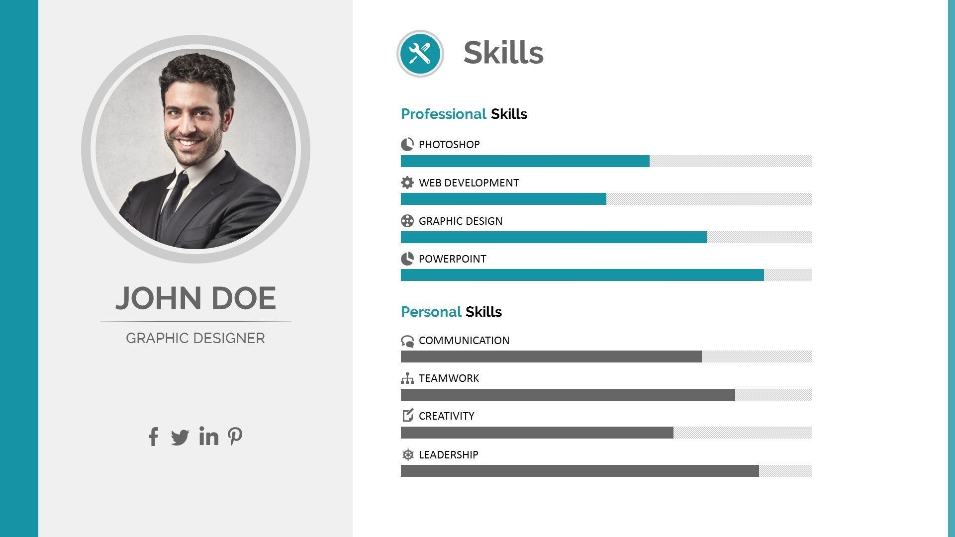 Resume Ppt Ppt Resume Resume Template Free Cv Infographic Resume Templates