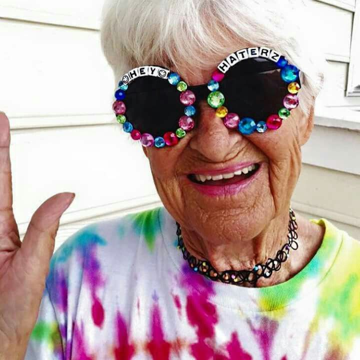 Old Lady Fashionista: Fashionista & Grandmother Baddie Winkle Who Became An