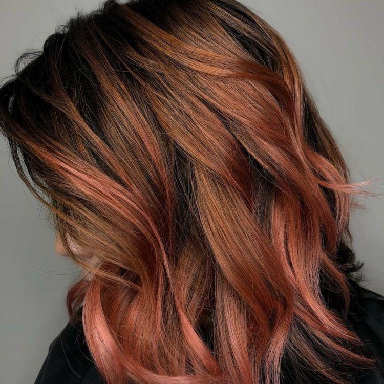 Von auf färben hellbraun rot haare guartyportio: Rote