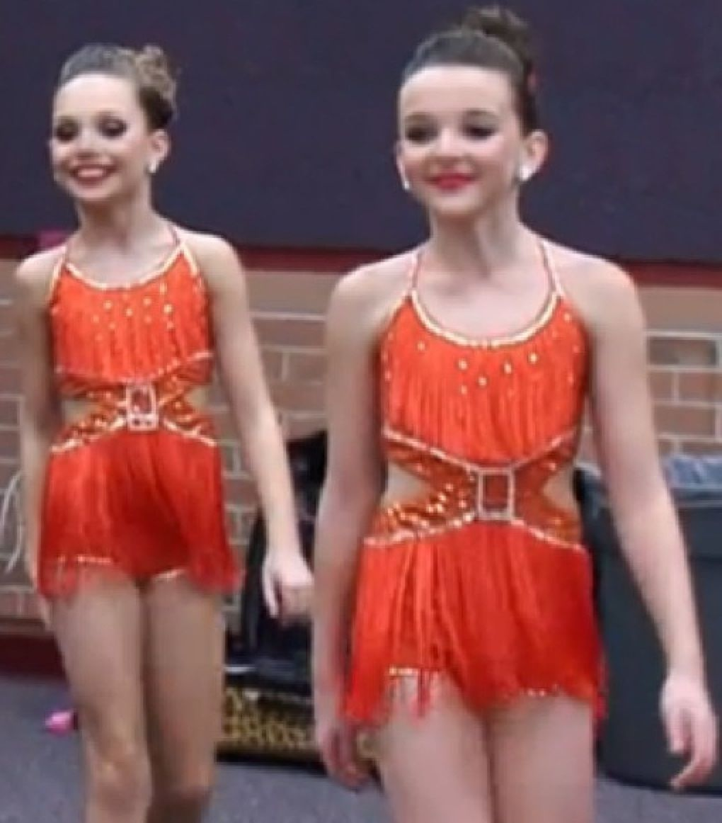 Maddie and kendall in trio costumes dance moms pinterest maddie and kendall in trio costumes kristyandbryce Choice Image