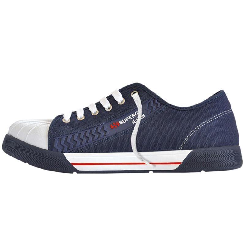 2795 Curveflannelw, Sneakers Mixte Adulte, Rouge (DK Bordeaux), 35 EU (2.5 UK)Superga