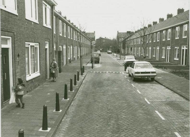 Irenestraat Leiden (jaartal: 1980 tot 1990) - Foto's SERC