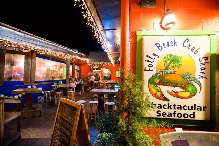 Folly Beach Crab Shack On 26 Center St