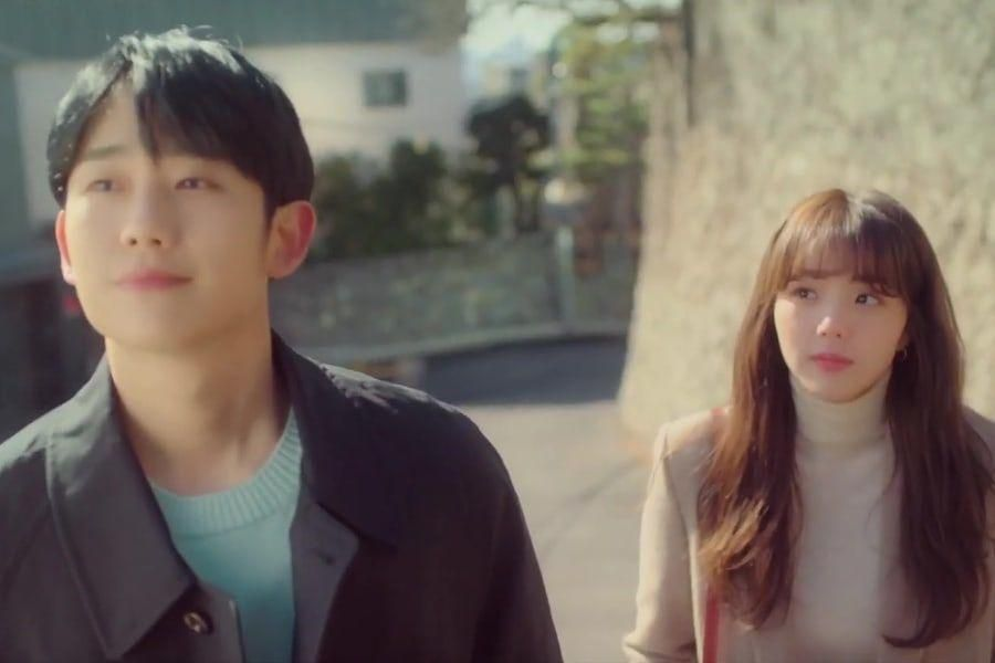 "Watch: Chae Soo Bin Admires Jung Hae In From Afar In ""A Piece Of Your Mind"" Teaser"