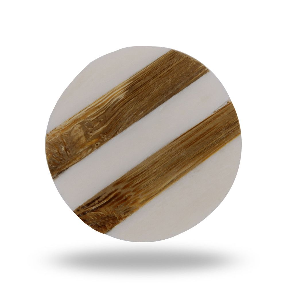Striped Round Bone Knob | Rounding, Furniture knobs and Wood grain