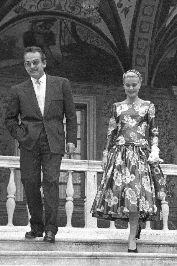 Grace Kelly e o Príncipe Rainier III, 1955