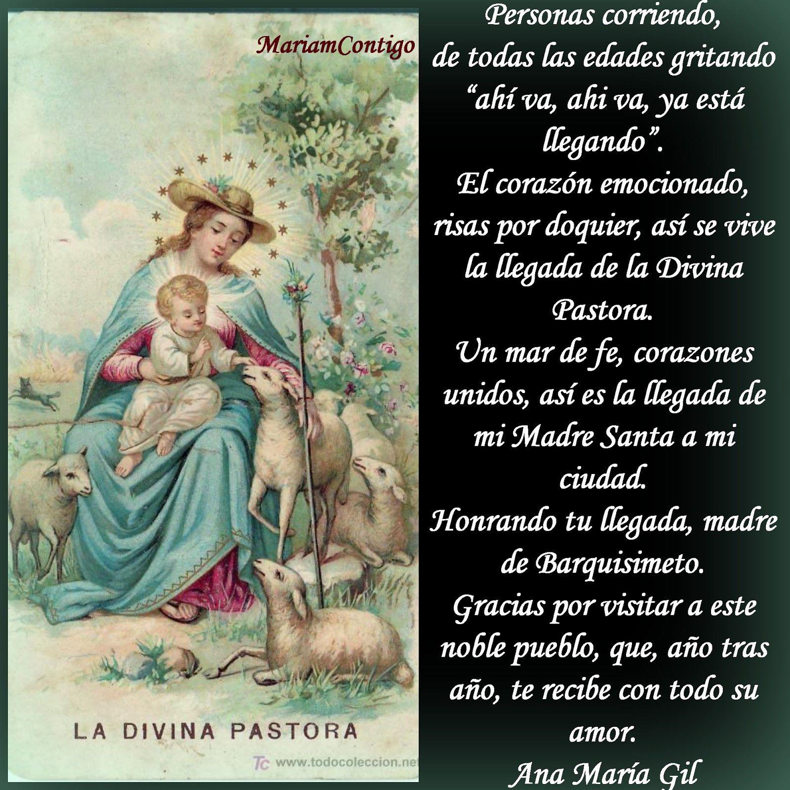 A LA DIVINA PASTORA Patrona de Barquisimeto, Venezuela Por la ...