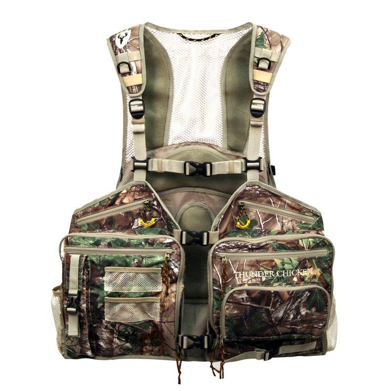 244c49d86b95b Bone Collector Thunder Chicken Turkey Vest - Camo Hunting Vests ...