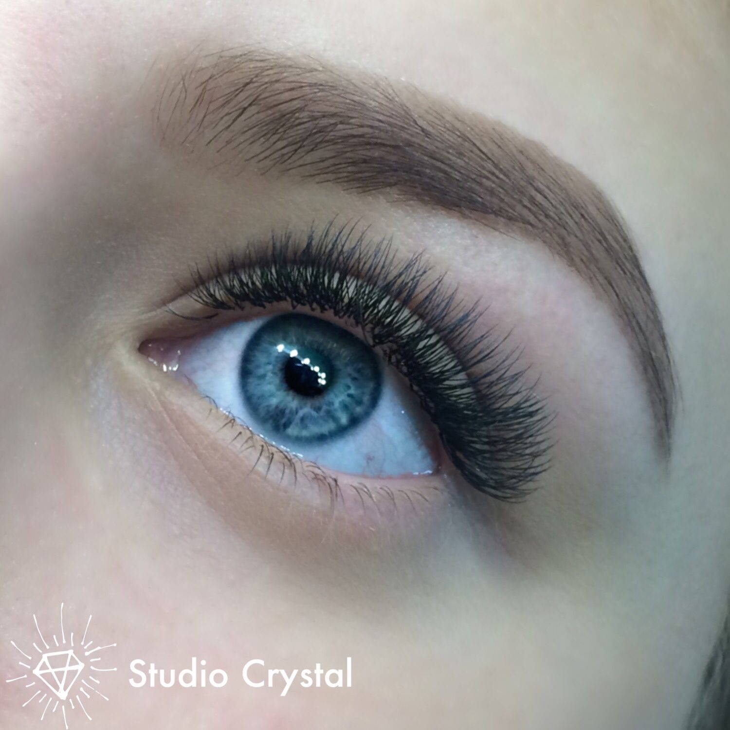 Russian Volume 2D Lashes | Eyelash extensions, Russian ...