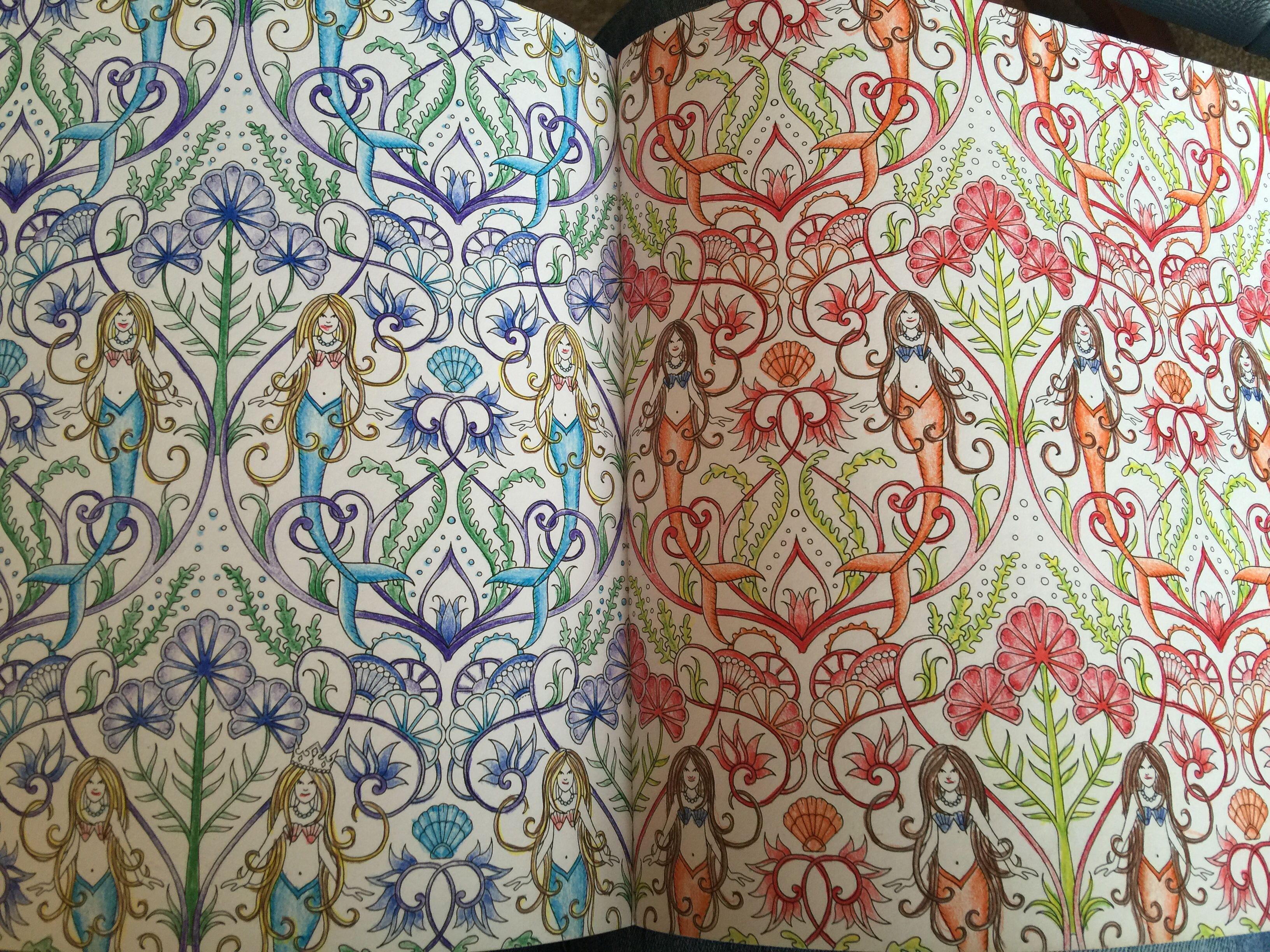 Zen ocean colouring book - Lost Ocean Coloring Book